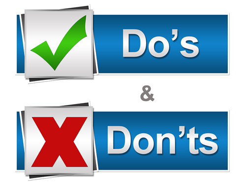 The Do's and Don'ts of Supporting a Loved One with Substance Abuse (Part 1) - do's and don'ts
