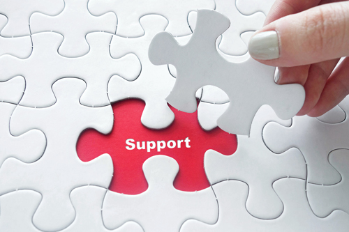 The Do's and Don'ts of Supporting a Loved One with Substance Abuse (Part 3) - support puzzle piece