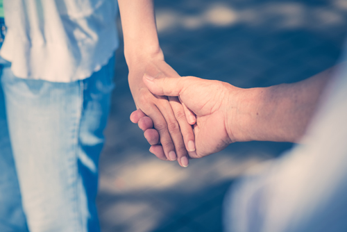 The Do's and Don'ts of Supporting a Loved One with Substance Abuse (Part 2) - holding hands