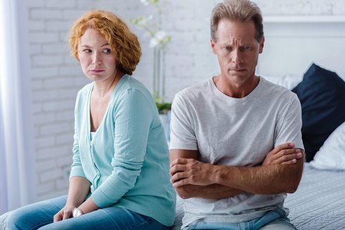 What to Do When a Loved One Refuses Addiction Treatment - couple in argument