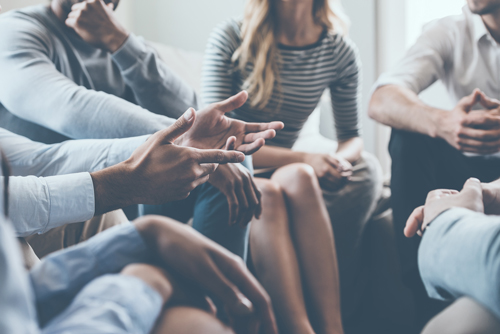 Returning to Treatment After Relapse - group discussion