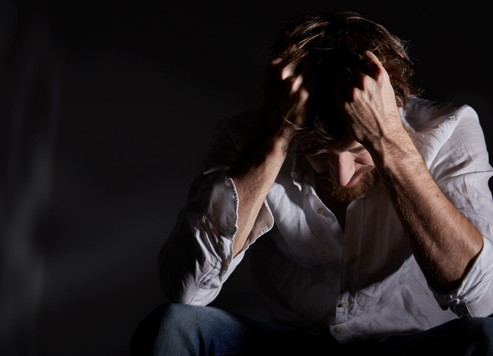Addiction and Suicide: How Substance Abuse Is Related to Self-Harm - depressed man