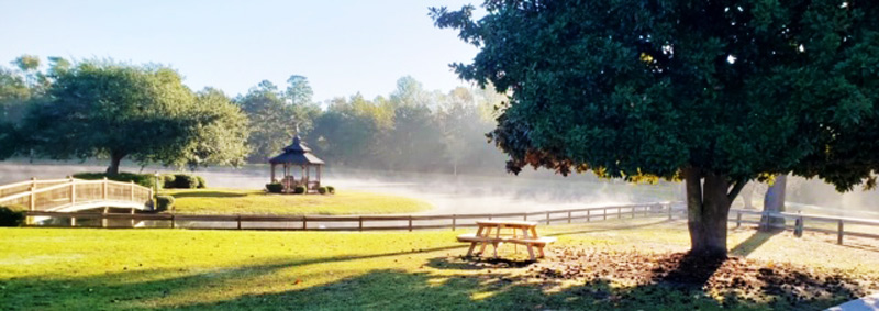 panoramic view with gazebo - Waypoint Recovery Center - South Carolina drug and alcohol rehab